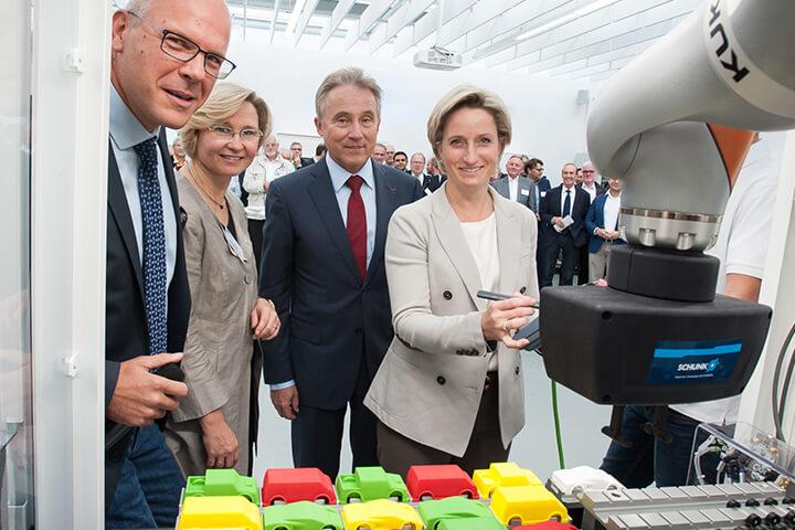 Einweihung Lernfabrik 4.0 Bietigheim-Bissingen